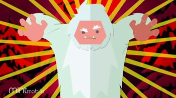 Mint Mobile TV Spot, 'Holidays: 3 Months of Wireless for $20: Yeti' - Thumbnail 3