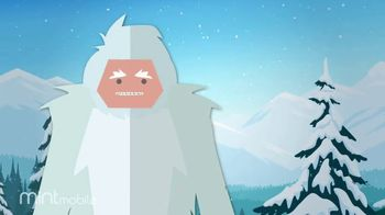 Mint Mobile TV Spot, 'Holidays: 3 Months of Wireless for $20: Yeti' - Thumbnail 7