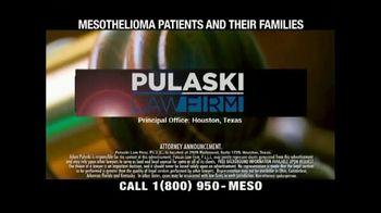 Pulaski Law Firm TV Spot, 'Asbestos-Related Mesothelioma' - Thumbnail 1
