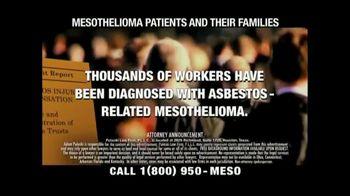 Pulaski Law Firm TV Spot, 'Asbestos-Related Mesothelioma' - Thumbnail 2