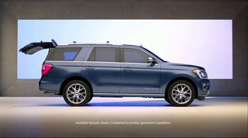 2018 Ford Expedition TV Spot, 'New Definition of Space' [T1]