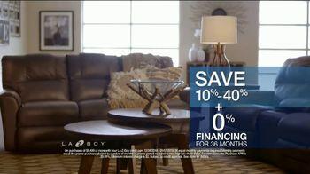 La-Z-Boy Year End Sale TV Spot, 'From Cozy to Spacious' - Thumbnail 8
