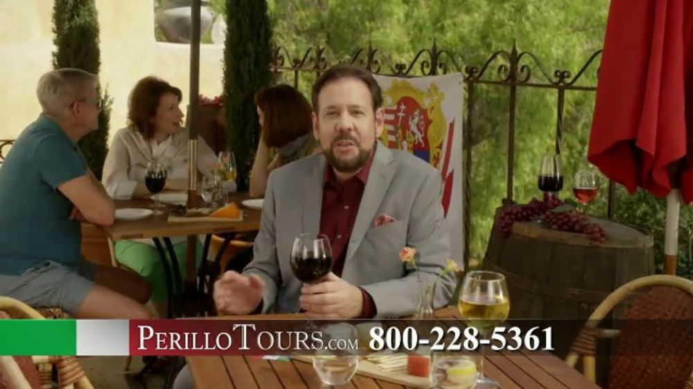 Perillo Tours TV Commercial, 'Wine Garden'