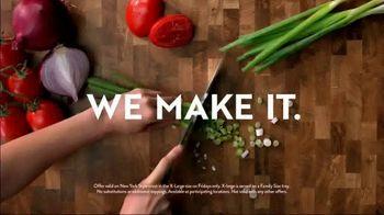 Papa Murphy's XLNY Pizza TV Spot, 'Ginormous: $7 Fridays' - Thumbnail 8