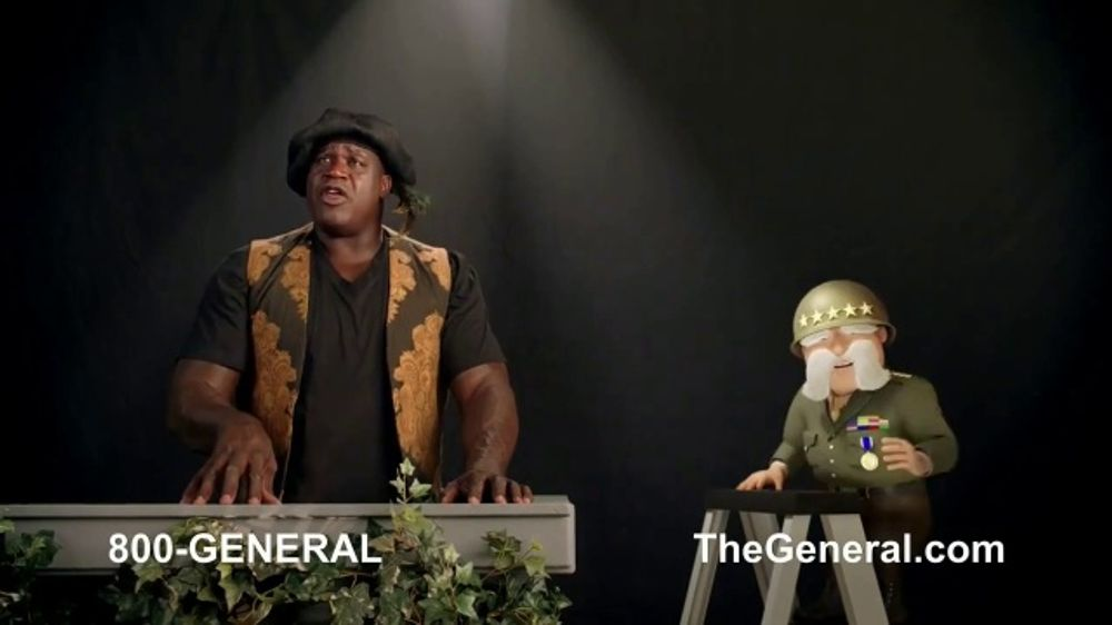 The General TV Commercial, 'Strong Suits: Acting & Cake Baking' Featuring Shaquille O'Neal