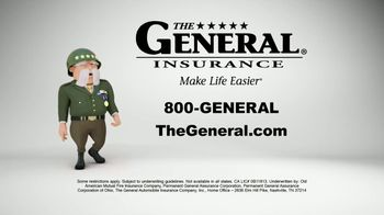The General TV Spot, 'Strong Suits: Acting & Cake Baking' Featuring Shaquille O'Neal - Thumbnail 9