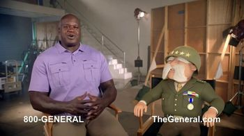 The General TV Spot, 'Strong Suits: Acting & Cake Baking' Featuring Shaquille O'Neal - Thumbnail 1