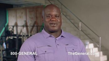 The General TV Spot, 'Strong Suits: Acting & Cake Baking' Featuring Shaquille O'Neal - Thumbnail 3