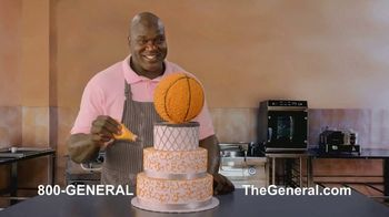The General TV Spot, 'Strong Suits: Acting & Cake Baking' Featuring Shaquille O'Neal - Thumbnail 6