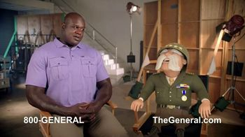 The General TV Spot, 'Strong Suits: Acting & Cake Baking' Featuring Shaquille O'Neal - Thumbnail 7