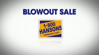 1-800-HANSONS Blowout Sale TV Spot, 'Up to 70 Percent Off Installation' - Thumbnail 7