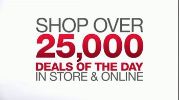Macy's One Day Sale TV Spot, 'Treat Yourself: Dress Shirts, Luggage & Pillows'