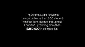 2019 Allstate Sugar Bowl TV Spot, 'Student Athletes' - Thumbnail 5