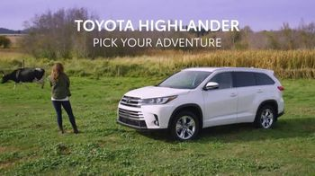 Toyota Highlander TV Spot, 'Pick Your Adventure' [T1] - Thumbnail 9