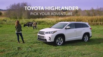 Toyota Highlander TV Spot, 'Pick Your Adventure' [T1] - Thumbnail 8