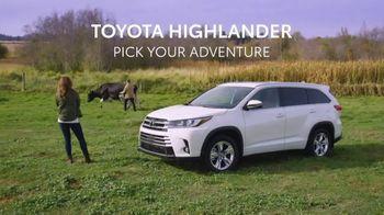 Toyota Highlander TV Spot, 'Pick Your Adventure' [T1] - Thumbnail 8