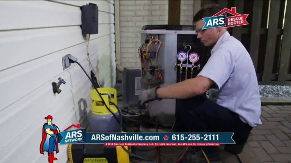 ARS Rescue Rooter TV Commercial, 'Same Low Rate' - Video
