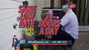 ARS Rescue Rooter TV Spot, 'Same Low Rate' - Thumbnail 5