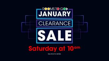 Rooms to Go January Clearance Sale TV Spot, 'Blow Out Inventory' - Thumbnail 7