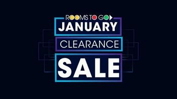 Rooms to Go January Clearance Sale TV Spot, 'Blow Out Inventory' - Thumbnail 2