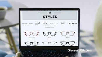 GlassesUSA.com TV Spot, '50 Percent Off Your First Pair' - Thumbnail 4