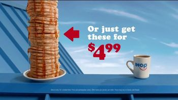 IHOP All You Can Eat Pancakes TV Spot, 'Rising Stack' - Thumbnail 7