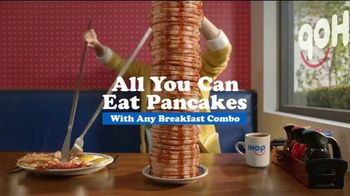 IHOP All You Can Eat Pancakes TV Spot, 'Rising Stack'