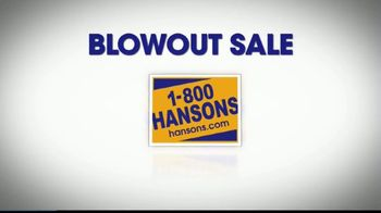 1-800-HANSONS Blowout Sale TV Spot, 'New Roof' - Thumbnail 6