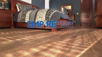 Empire Today $99 Sale TV Spot, 'Carpet, Hardwood and Laminate' - Thumbnail 1