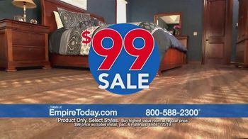 Empire Today $99 Sale TV Spot, 'Carpet, Hardwood and Laminate'