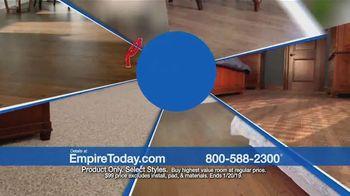 Empire Today $99 Sale TV Spot, 'Carpet, Hardwood and Laminate' - Thumbnail 6