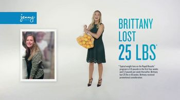 Jenny Craig Rapid Results TV Spot, 'Brittany: $120 in Free Food' - Thumbnail 1