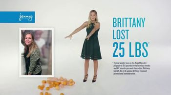 Jenny Craig Rapid Results TV Spot, 'Brittany: $120 in Free Food' - Thumbnail 3