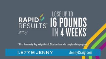 Jenny Craig Rapid Results TV Spot, 'Brittany: $120 in Free Food' - Thumbnail 4