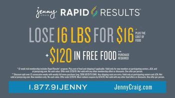 Jenny Craig Rapid Results TV Spot, 'Brittany: $120 in Free Food' - Thumbnail 6
