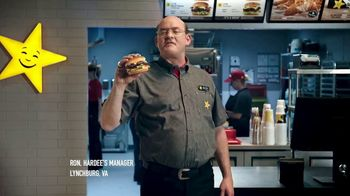 Hardee's Angus Thickburger Melts TV Spot, 'The Right Way' Featuring David Koechner - Thumbnail 2