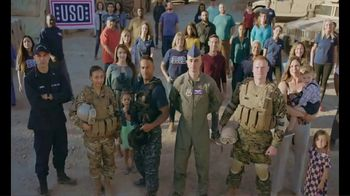 USO TV Spot, 'What Does It Take?: Share a Message'