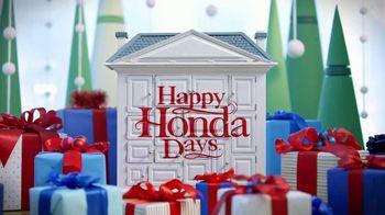 Happy Honda Days Sales Event TV Spot, '2018 Holidays: Six Million Dollar Man' [T2] - Thumbnail 1
