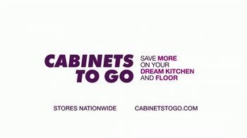 Cabinets To Go TV Spot, '20% Off Cabinets and Floors' - Thumbnail 9