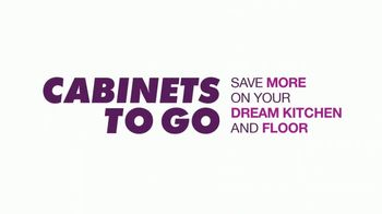 Cabinets To Go TV Spot, '20% Off Cabinets and Floors' - Thumbnail 1