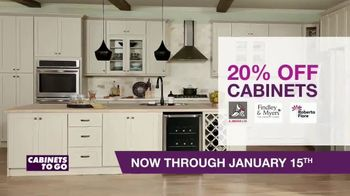 Cabinets To Go TV Spot, '20% Off Cabinets and Floors' - Thumbnail 4