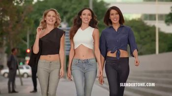 Slendertone TV Spot, 'A Little Help: Personal Body Toner'