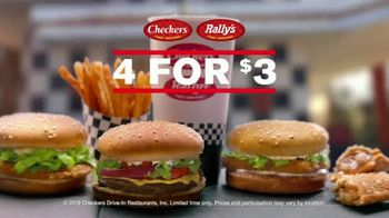 Checkers & Rally's 4 for $3 TV Spot, 'Nobody Competes' - Thumbnail 1