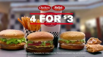 Checkers & Rally's 4 for $3 TV Spot, 'Nobody Competes' - Thumbnail 2