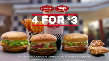 Checkers & Rally's 4 for $3 TV Spot, 'Nobody Competes' - Thumbnail 3