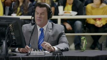 GEICO TV Spot, 'The Gecko Cheers During His First NCCA Basketball Game' - Thumbnail 10