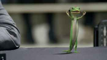 GEICO TV Spot, \'The Gecko Cheers During His First NCCA Basketball Game\'