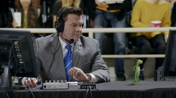 GEICO TV Spot, 'The Gecko Cheers During His First NCCA Basketball Game' - Thumbnail 8