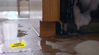 Lumber Liquidators Spring Black Friday Flooring Sale TV Spot, 'Lasting Piece of Mind'