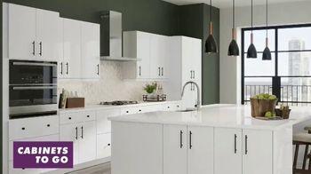 Cabinets To Go White Cabinet Sale TV Spot, 'Custom Kitchen'